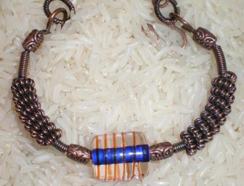 B001 Copper Cuff Bracelet