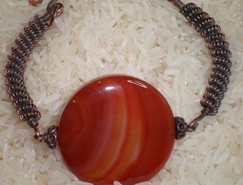B002 Carnelian Bracelet