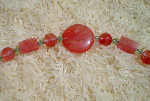 B004 Cherry Quartz Bracelet