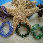 Coiled Beaded Bracelet