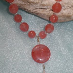 Cherry Quartz Pendant