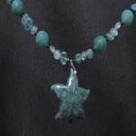 Agate Starfish Pendant
