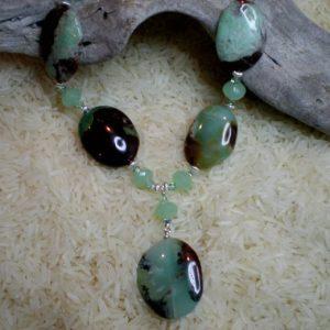 Chrysoprase Necklace